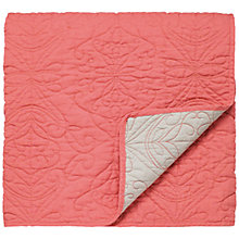 Buy Harlequin Papilio Throw, Coral Online at johnlewis.com