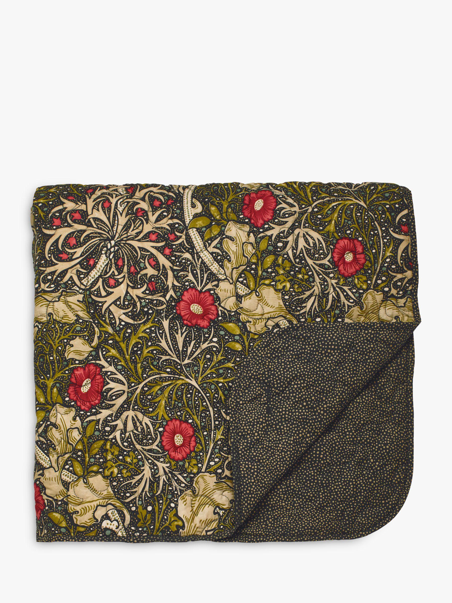 Morris & Co Morris & Co Seaweed Bedspread