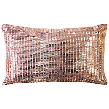 Buy Ted Baker Jet Cushion, Rose Gold Online at johnlewis.com