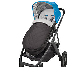 Buy Uppababy Cosy Ganoosh Footmuff, Black Online at johnlewis.com