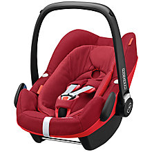 Buy Maxi-Cosi Pebble Plus i-Size Group 0+ Baby Car Seat, Robin Red Online at johnlewis.com