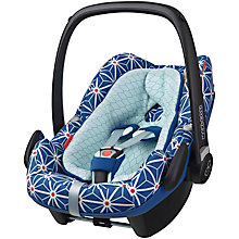 Buy Maxi-Cosi Pebble Plus i-Size Group 0+ Baby Car Seat, Star Blue Online at johnlewis.com