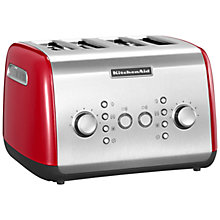 Buy KitchenAid 4-Slice Toaster Online at johnlewis.com
