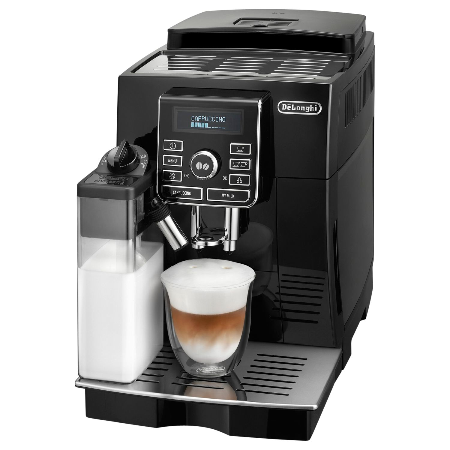 delonghi magnifica coffee maker compare prices at foundem. Black Bedroom Furniture Sets. Home Design Ideas
