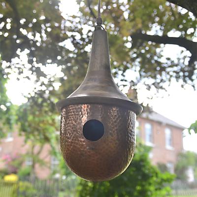 Foras 'The Amner' Copper Bird House