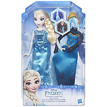 Buy Disney Frozen Fashion Change Doll, Assorted Online at johnlewis.com