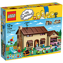 Buy LEGO The Simpsons House Online at johnlewis.com