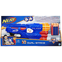 Buy Nerf N-Strike Elite Dual-Strike Blaster Online at johnlewis.com