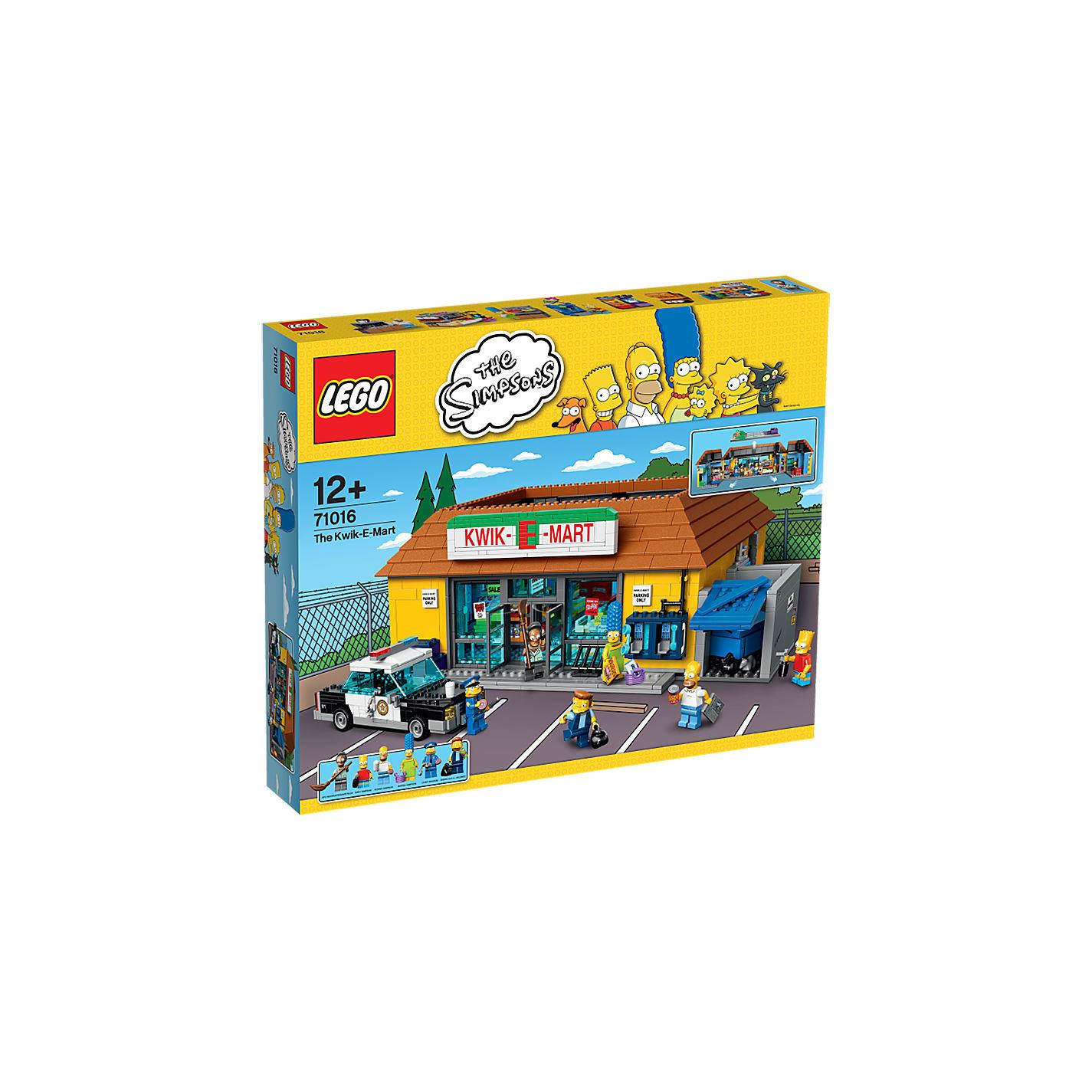 Buy LEGO The Simpsons       Kwik E Mart Online at johnlewis com     John Lewis