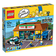 Buy LEGO The Simpsons 71016 Kwik-E-Mart Online at johnlewis.com