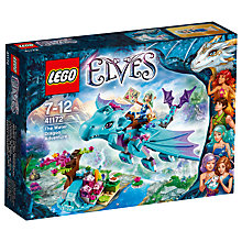 Buy LEGO Elves Water Dragon Adventure Online at johnlewis.com