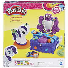 Buy Play-Doh My Little Pony Rarity Style & Spin Set Online at johnlewis.com