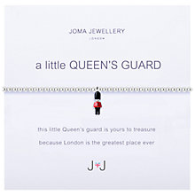 Buy Joma A Little Queen's Guard Enamel Charm Bracelet, Silver/Multi Online at johnlewis.com