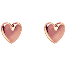 Buy Joma Lila Heart Stud Earrings Online at johnlewis.com