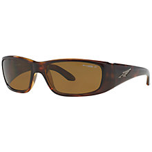 Buy Arnette AN4178 Quick Draw Polarised Rectangular Sunglasses, Tortoise Online at johnlewis.com