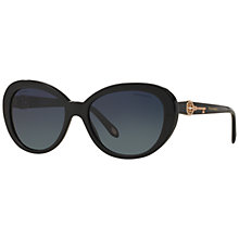 Buy Tiffany & Co TF4118B Oval Sunglasses Online at johnlewis.com