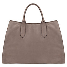 Buy Jigsaw Sofia Work Tote Bag, Grey Online at johnlewis.com