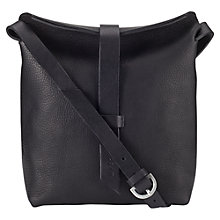 Buy Jigsaw Elin Leather Medium Shoulder Bag Online at johnlewis.com