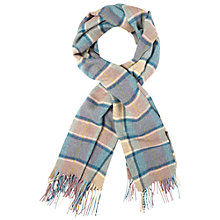 Buy White Stuff Bronte Check Wool Scarf, Multi Online at johnlewis.com