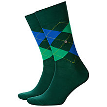 Buy Burlington King Size Argyle Socks, One Size Online at johnlewis.com