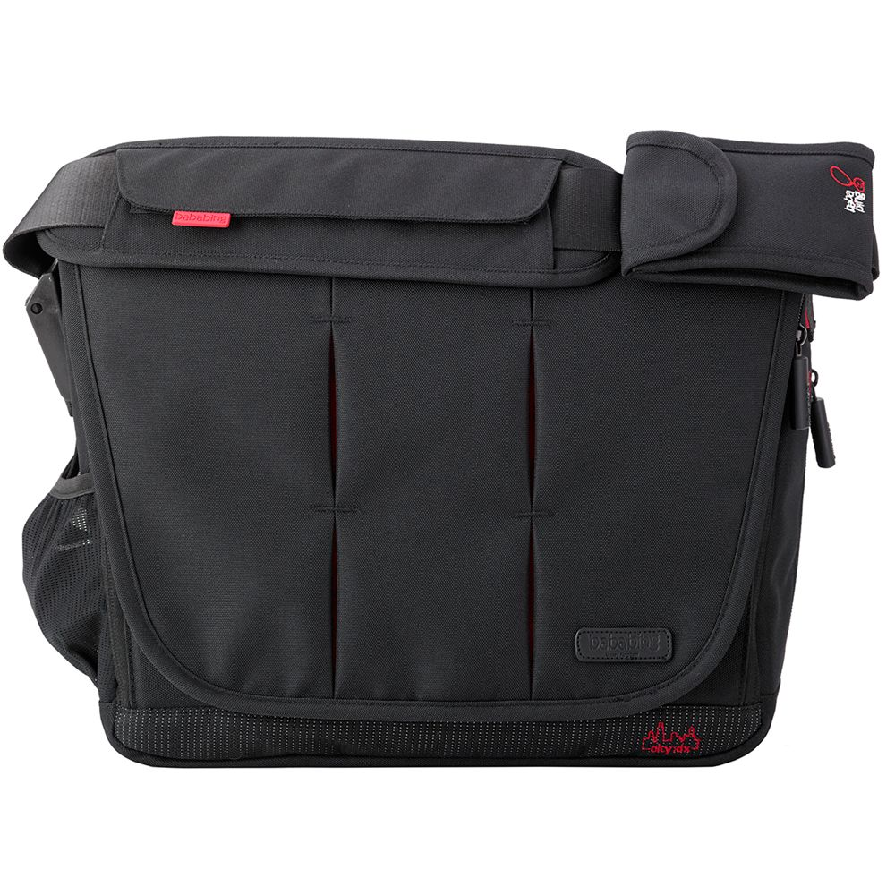 BabaBing Bababing DayTripper City Deluxe 2016 Changing Bag, City Black