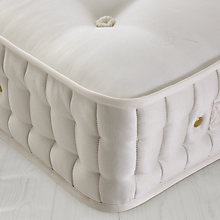 Buy John Lewis Natural Collection British Fleece Wool 8000 Pocket Spring Mattress, Single Online at johnlewis.com