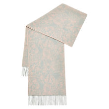 Buy Hobbs Josie Scarf, Pink Multi Online at johnlewis.com