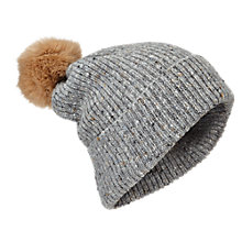 Buy Jigsaw Donegal Pom Pom Hat Online at johnlewis.com