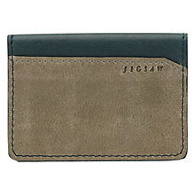 Buy Jigsaw Contrast Travel Card Holder Online at johnlewis.com