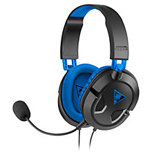 Buy Turtle Beach Recon 60P Gaming Headset for PlayStation 3 & 4 Online at johnlewis.com