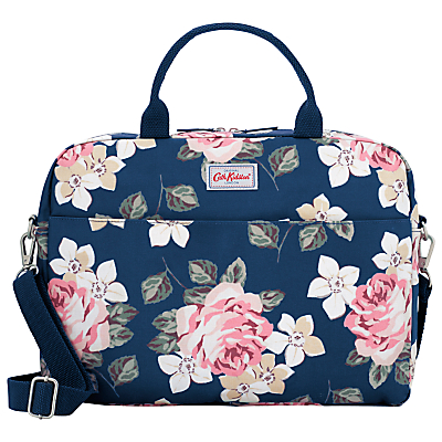 Cath Kidston Richmond Rose Bag for 13 Laptop Navy