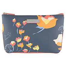 Buy Radley Botanical Large Cosmetic Case, Grey Online at johnlewis.com