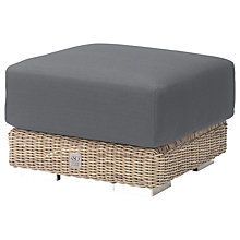 Buy 4 Seasons Outdoor Kingston Footstool and Cushion Online at johnlewis.com