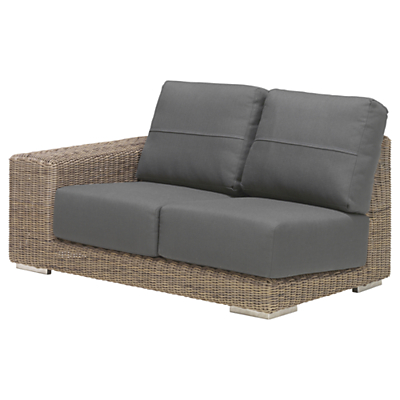 4 Seasons Outdoor Kingston Modular 2-Seater Sofa, Right Hand Side