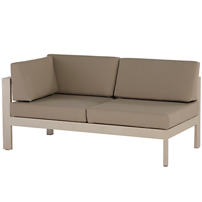 4 Seasons Outdoor Cosmo Modular 2-Seat Right Arm Sofa