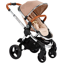 Buy iCandy Peach Pushchair with Chrome Chassis and Butterscotch Hood Online at johnlewis.com