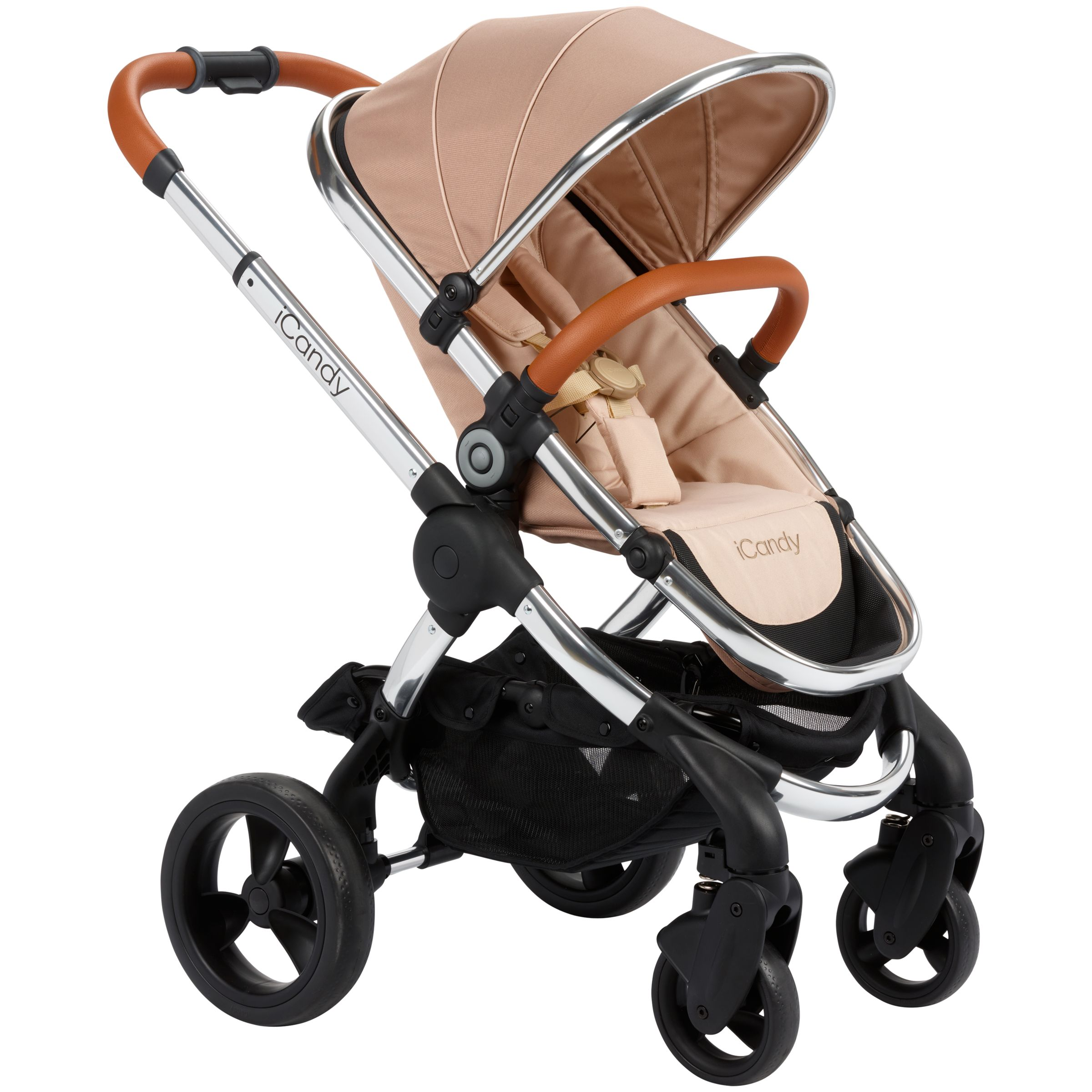 iCandy iCandy Peach Pushchair with Chrome Chassis and Butterscotch Hood
