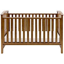 Buy Silver Cross Ashby Cotbed, Warm Light Walnut Online at johnlewis.com