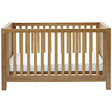Buy Silver Cross Portobello Cotbed, Warm Oak Online at johnlewis.com