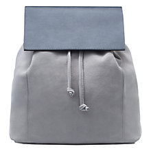 Buy Mango Lapel Suede Backpack Online at johnlewis.com