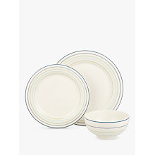 Buy John Lewis Hazlemere Stripe China Set, 12 Piece Online at johnlewis.com