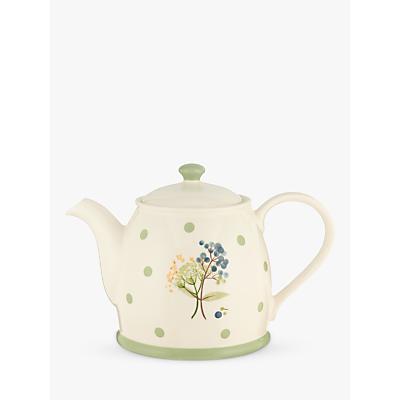 John Lewis Hazlemere Flower Teapot