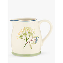 Buy John Lewis Hazlemere Flower Creamer Online at johnlewis.com