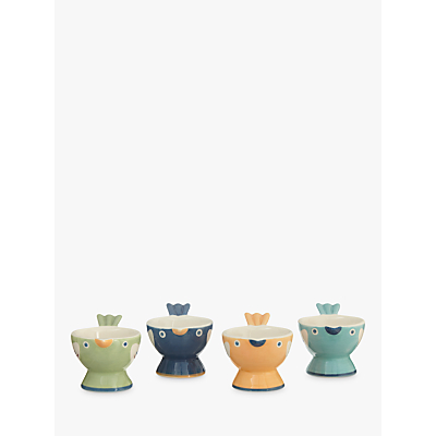 John Lewis Hazlemere Bird Egg Cups, Set of 4