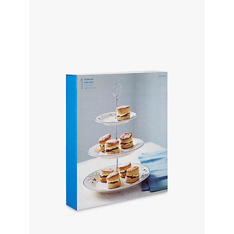 buy john lewis hazlemere 3 tier cake stand john lewis. Black Bedroom Furniture Sets. Home Design Ideas