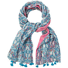 Buy White Stuff Nepalese Selvedge Scarf, Multi Online at johnlewis.com