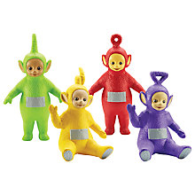 Buy Teletubbies Family Figures, Pack of 4 Online at johnlewis.com
