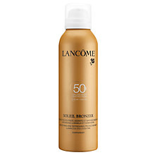 Buy Lancôme Soleil Bronzer Protective Body Mist SPF 50, 200ml Online at johnlewis.com