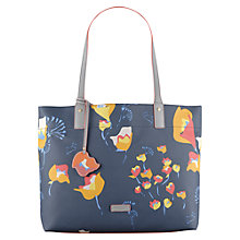 Buy Radley Botanical Large Tote Bag, Navy Online at johnlewis.com