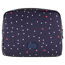 Buy Radley Cheshire Street Large Zip Cosmetic Case, Navy Online at johnlewis.com